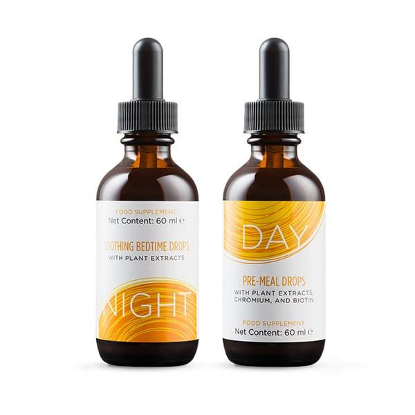 Slenderiiz gotas día y noche - drops day & night - productos ariix - cura de adelgazamiento