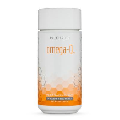 produit : omega-q de la gamme nutrifii par ARIIX-NewAge - Complément alimentaire