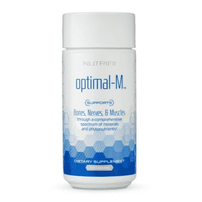 produit : optimal-m - nutrifii - ariix - newage - complément alimentaire