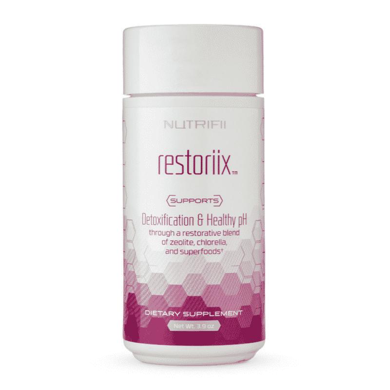 produit : restoriix - nutrifii - ariix - newage - cure détox - complément alimentaire