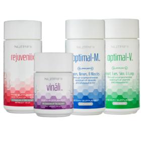 nutrifii pack ariix - vinali - optimal-m - optimal-v - rejuveniix