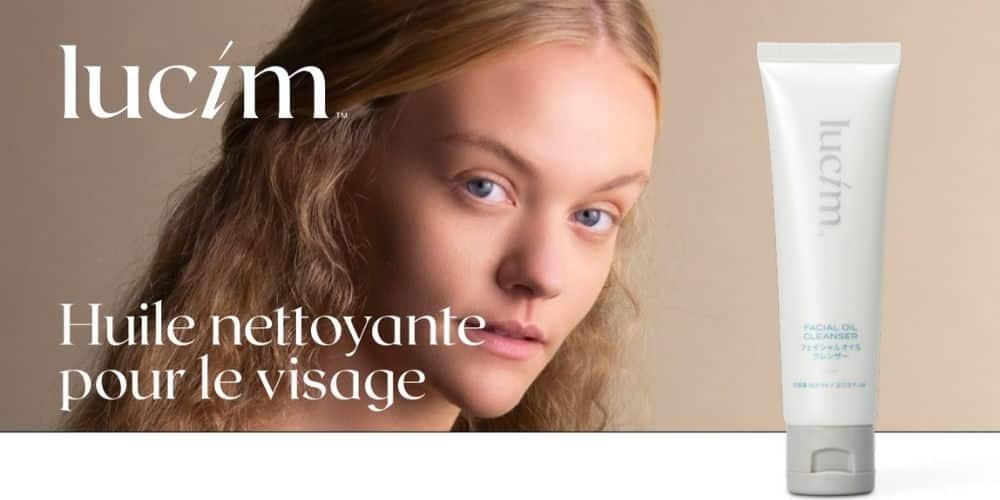 huile nettoyante visage - gamme lucim - ariix