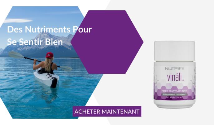 Produit Vinali par ARIIX - NewAge de la gamme Nutrifii - complément alimentaire - antioxydant - acheter